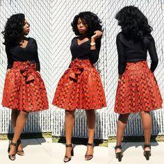 Ankara Skirt with waistbelt african print, knee length African skirt, african clothing, the african shop, ankara skirt African Attire, African Wear, African Dress, African Fashion, African Style, Ankara Crop Top, Ankara Skirt, Ankara Tops, Afro