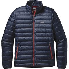 Patagonia Down Sweater Navy/Red