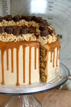 A Delicious, Dreamy, Sweet & Salty Cake that everyone will enjoy. A Salted Caramel Drip Cake to beat all others, the true showstopper! Recently I...