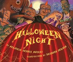 Trick or treat!  It's Halloween night and all are preparing, for a wickedly wonderful evening of scaring. With zombies and banshees and mummies galore, read this book once and you'll come back for more!  Marjorie Dennis Murray and New York Times best-selling illustrator Brandon Dorman team up to make this one of the spookiest Halloweens ever!