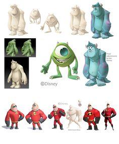 Concept Arts do game Disney Infinity | THECAB - The Concept Art Blog
