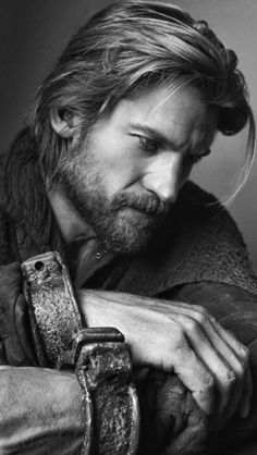 Actors work well, naturally, as character models. Even before he was Jaime Lannister on GAME OF THRONES I had a thing for Nikolaj Coster-Waldau