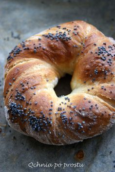 Bajgle z makiem Cheat Day, Bagel, Bread, Food, Brot, Essen, Baking, Meals, Breads