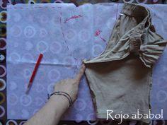 cómo sacar el patrón de un pantalón