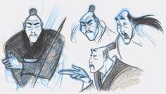 Mulan concept art. Mulan is by far  my favorite Disney movie.