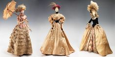 20 Handmade Dolls Tell the History of Fashion