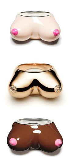 Nora Kogan's fantastic boob rings.