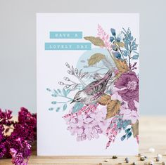 Purple Birdy   Louise Tiler