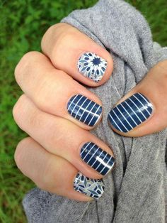 Prep School Stripes with Fractal leahbell.jamberry.com