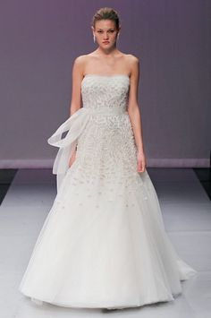 2014 Wedding Trend: 103 Fabulous Beaded Wedding Gowns | HappyWedd.com