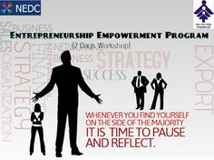 NEDC: NIESBUD & NEDC Presents Entrepreneurship Empowerme...