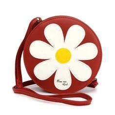 Hot-sale designer New Stylish Flower Shape Chain Crossbody Bag Online - NewChic #cute #bags #for #women Bags Online Shopping, Online Bags, Bags Travel, Round Bag, Chain Shoulder Bag, Shoulder Bags, Chain Crossbody Bag, Girls Bags, Cute Bags