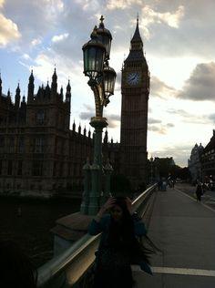 In front of Big Ben <3
