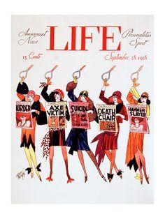 Life Magazine cover, 1928