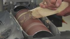Wondering how to clean sanding belts in your shop? Watch this video that demonstrates how to clean the belts in order to get the most use out of them.