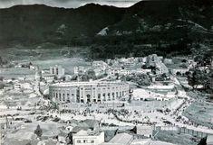 Bogotá antigua. Plaza de toros La Santamaría