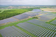 Ladovo Solar Power Plant - System size 25 MWp (of which 19 MWp from Fronius inverters) Solar Energy, Solar Power, Fields, Beach Mat, Outdoor Blanket, Plants, Planters, Plant