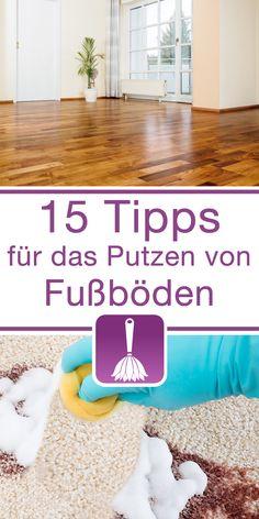 Hier findest du unsereTipps & Tricks für das Putzen von Fußböden.  Laminat Schonend reinigen Schuhsohlenspuren entfernen  Linoleum Reinigen und pflegen  Marmor Allgemeinen Pflege Flecken entfernen  Teppich Teppich zu Hause ausklopfen...