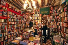 I like to visit this bookstore when in Paris. (Shakespeare and Company Bookstore, Paris, France)