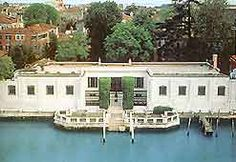 the Peggy Guggenheim modern art museum on the Grand Canal in Venice