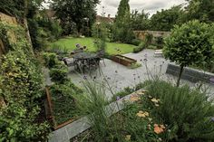 Larger looks — Lynne Marcus Garden Design London Garden Design London, Garden Site, Outdoor Spaces, Outdoor Decor, Garden Spaces, Garden Bridge, Bali, Coastal, Outdoor Structures