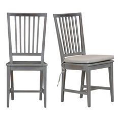 totally painting my chairs   gray!
