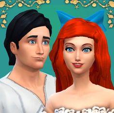 Mod The Sims - Ariel & Eric: Disney Fairytale Collection Pt. 3