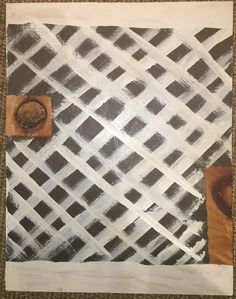 Cordy Ryman Mixed Media Title: 'Latice Knot' Signed Gallery Label Verso 2010