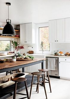 Bubby and Bean ::: Living Creatively: Thoughts on House Buying + Kitchen Inspiration