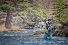 Cold weather fly fishing in Colorado