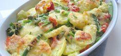 Snelle ovenschotel, makkelijke vegetarische ovenschotel! - Easy & fast vegetarian oven dish Vegetarian Recipes Dinner, Vegan Recipes, Dinner Recipes, Vegetarian Food, Healthy Diners, Oven Dishes, Perfect Food, Healthy Cooking, Healthy Life