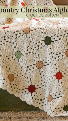 Crochet Afghans, Motifs Afghans, Crochet Blankets, Crochet Quilt, Crochet Cushions, Crochet Blocks, Baby Blankets, Granny Square Crochet Pattern, Crochet Stitches Patterns