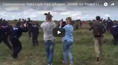 #HeyUnik  Sengaja Tendang Pengungsi, Wartawan Ini Dipecat #Video #YangUnikEmangAsyik
