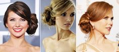 Os penteados laterais são boas opções para festa formais, onde o uso de acessórios pode incrementar o look com mais elegância.
