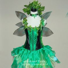 faerie costume for festival | AUTUMN SALE -Fairy Costume - Enchanted Woodland Faerie - corset sizes ...