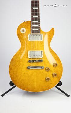 Used Gibson Custom Les Paul '59 Reissue Spalted Top.