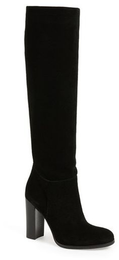 3535420c70 Tall Boots, Suede Boots, Women's Boots, Heeled Boots, Teacher Style,  Victoria S, High Knees, Nordstrom, Footwear