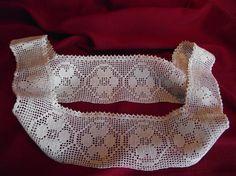 Vintage Girls Crocheted Dress Yoke by AnneMariesAttic on Etsy