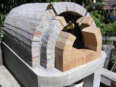 Bread oven being Build