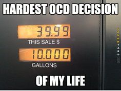 OCD decisions