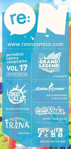 Sambut My Dearest Irina: Komik terbaru yang akan memulai debutnya di re:ON Comics 17 nanti!