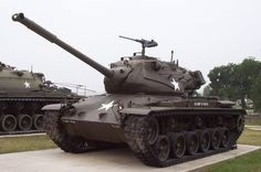 The M47 Patton is an American tank, the second tank to be named after General George S. Patton, commander of the U.S. Third Army during World War II and one of the earliest American advocates of tanks in battle. It was a further development of the M46 Patton tank.