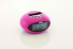 This Smartie Acoustic Solutions clock dock comes in a bright pink, vibrant blue and brilliant white, exclusively from Argos.