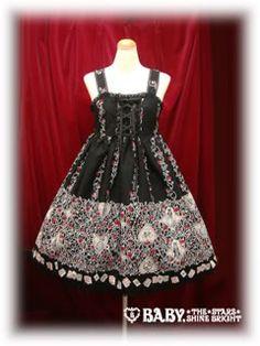 Alice and the Pirates - JSK - Beardsley Rose Alice JSK /// ¥26,040 /// Bust:  88-102 Waist:  79-96 Length:  93