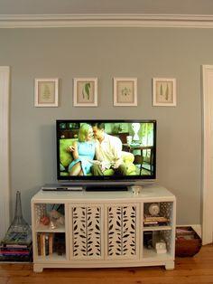 above tv decor - Google Search