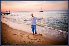 Great idea for Senior pictures(:. Maybe when we go to lake Erie when can get some like this!