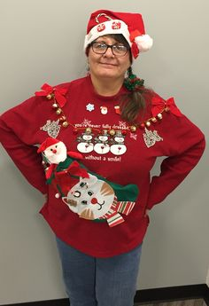 93 Best Ugly Christmas Sweaters Images On Pinterest
