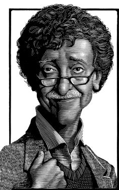 Mark Summers: The Man Behind the Iconic Barnes & Noble Author Portraits - Neatorama