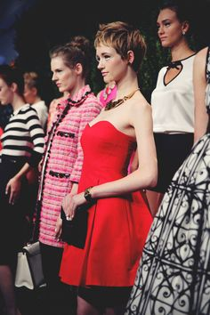 JennifHsieh at #NYFW | Kate Spade Spring 2014 Collection