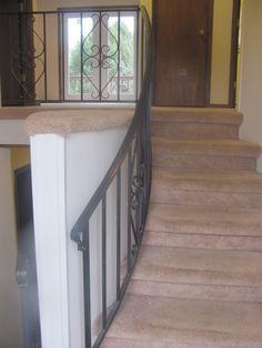 The entry way from the front door.
